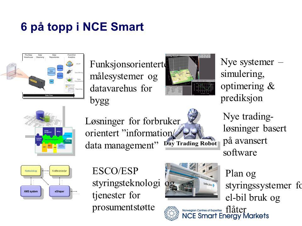 6 på topp i NCE Smart Nye systemer – Funksjonsorienterte simulering,