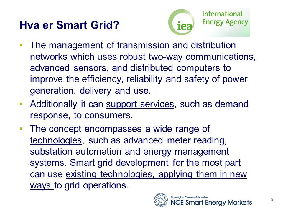 Hva er Smart Grid