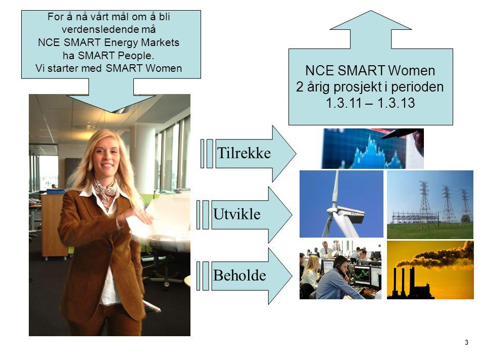 Tilrekke Utvikle Beholde NCE SMART Women 2 årig prosjekt i perioden