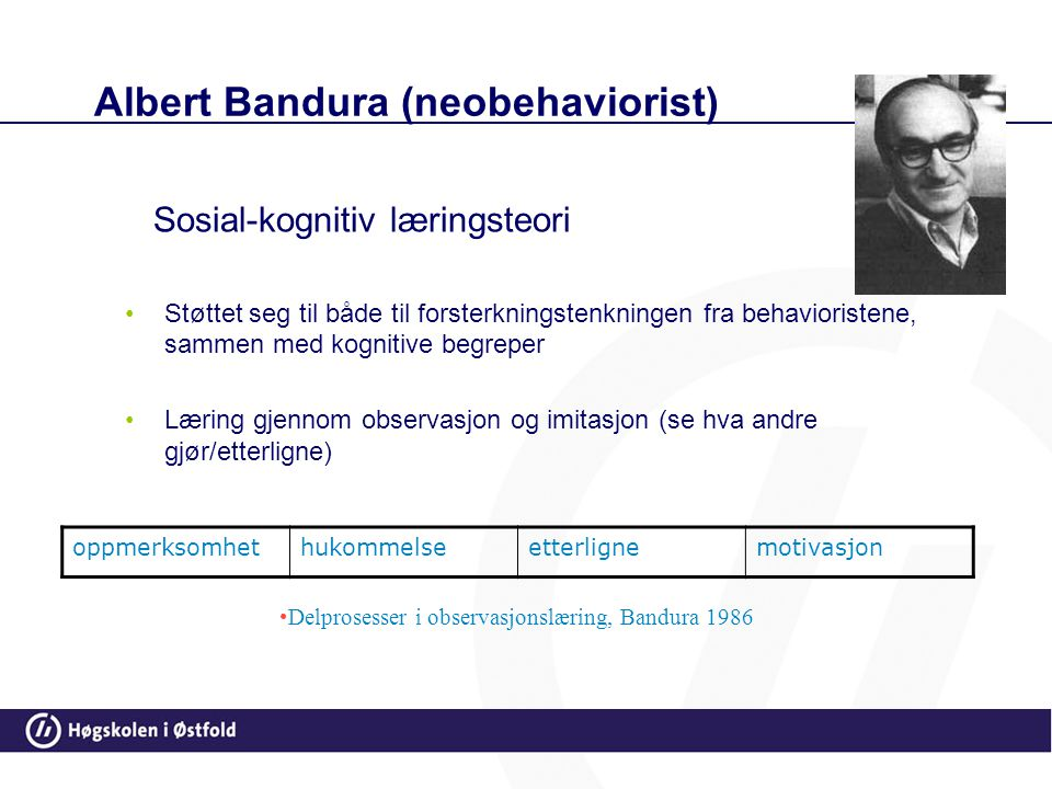 Albert Bandura (neobehaviorist)