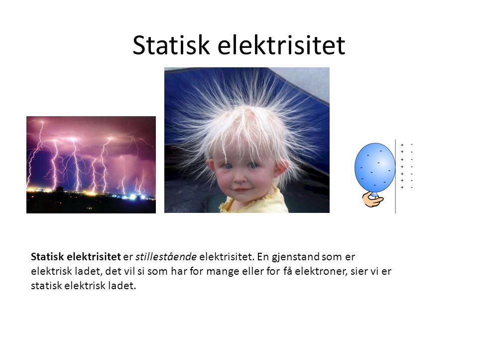 Statisk elektrisitet