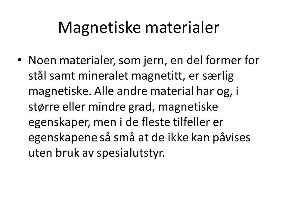 Magnetiske materialer