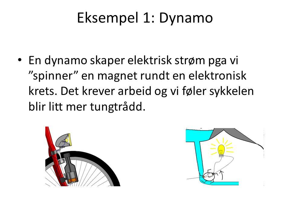 Eksempel 1: Dynamo
