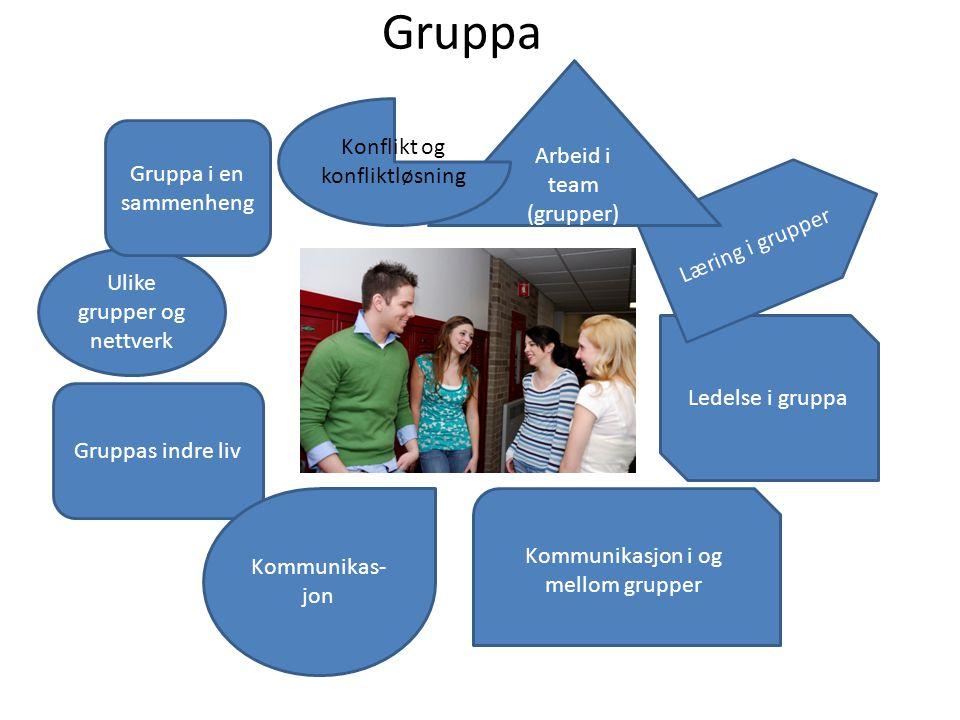 Gruppa Arbeid i team Konflikt og konfliktløsning (grupper)