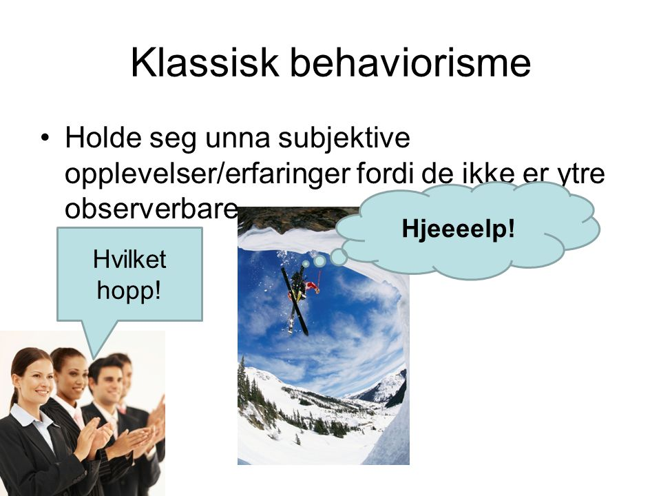 Klassisk behaviorisme