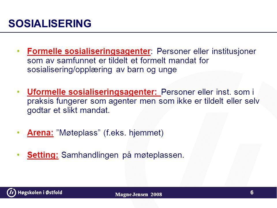 SOSIALISERING