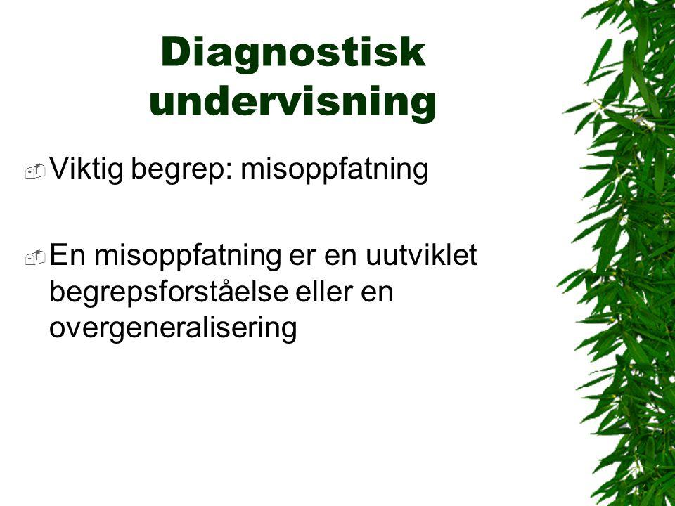Diagnostisk undervisning
