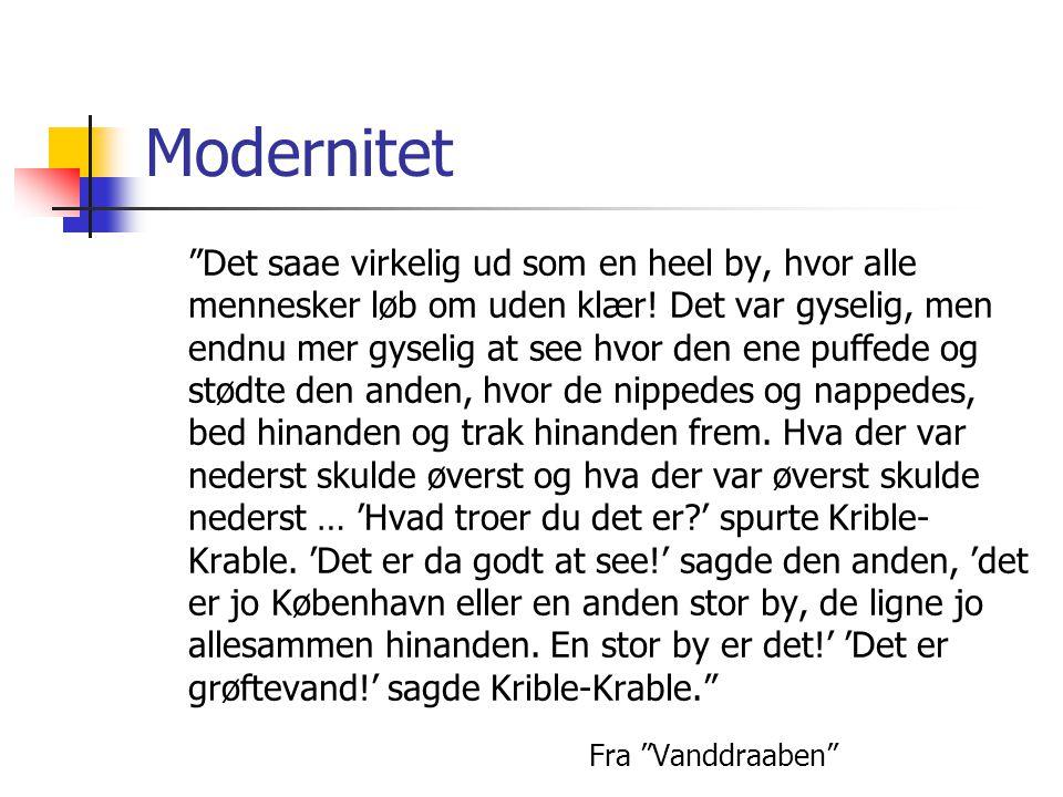 Modernitet