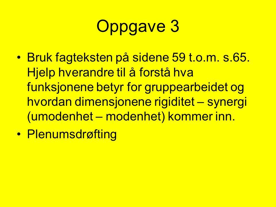 Oppgave 3