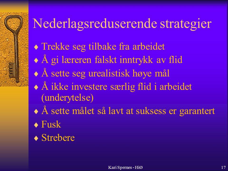 Nederlagsreduserende strategier