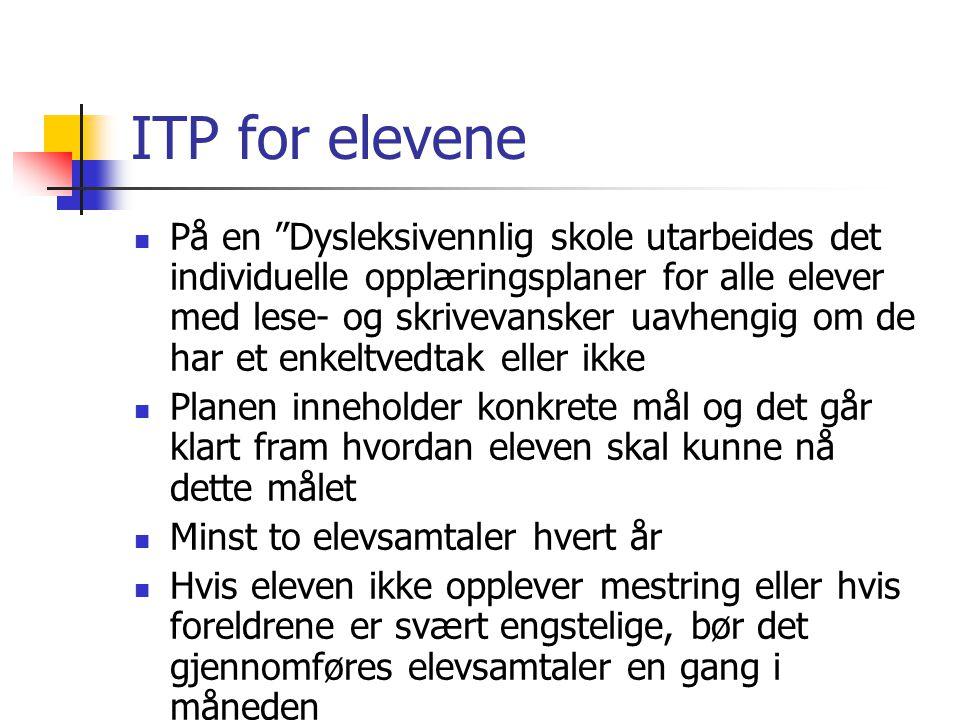ITP for elevene