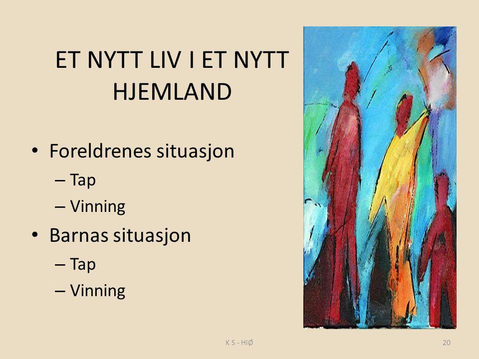 ET NYTT LIV I ET NYTT HJEMLAND