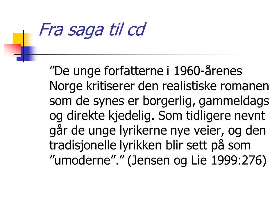 Fra saga til cd