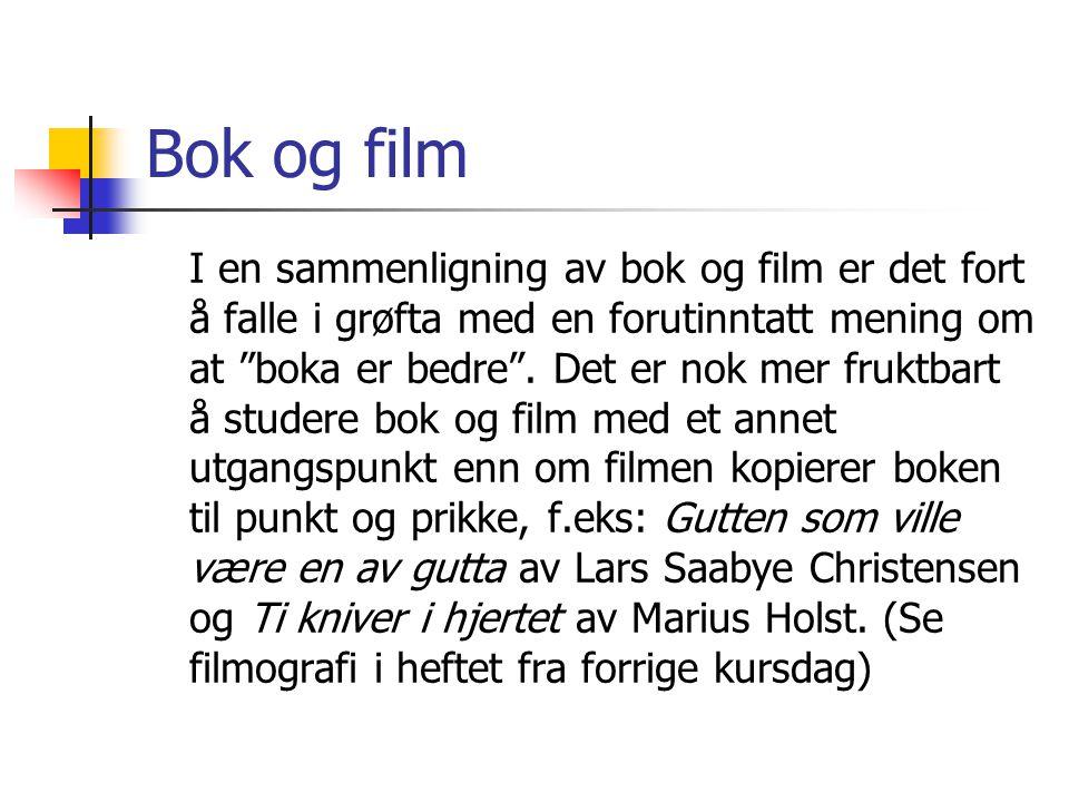 Bok og film