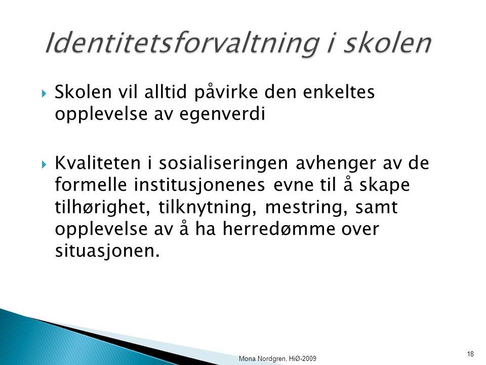 Identitetsforvaltning i skolen