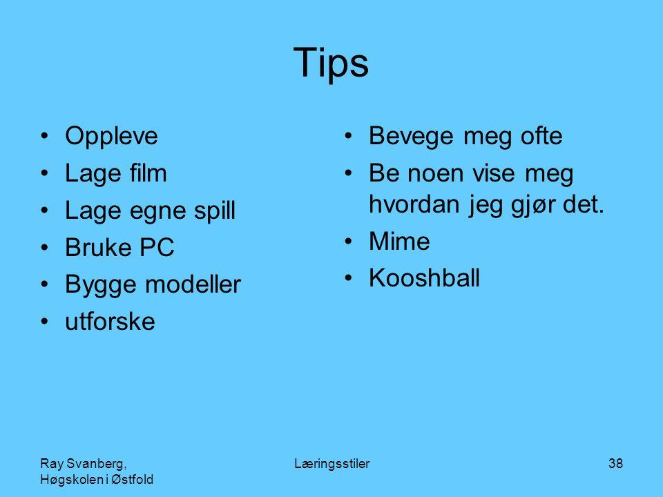 Tips Oppleve Lage film Lage egne spill Bruke PC Bygge modeller
