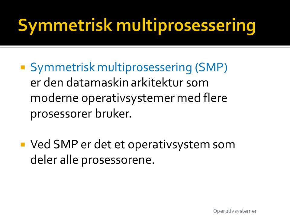 Symmetrisk multiprosessering