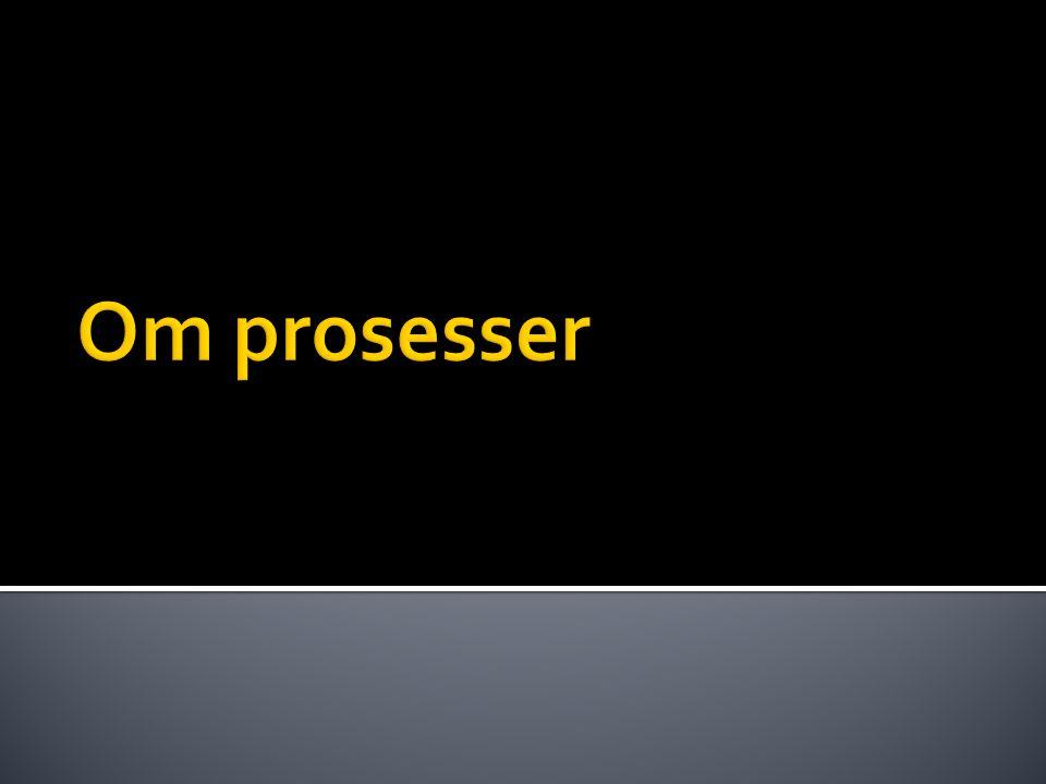 Om prosesser