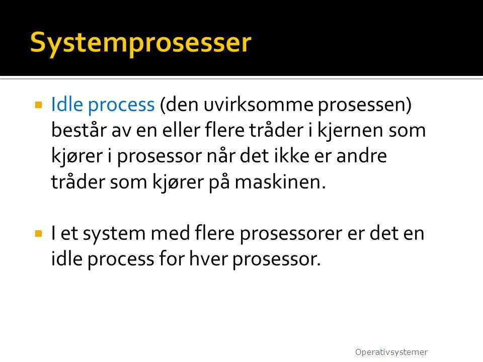 Systemprosesser