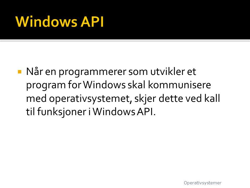Windows API