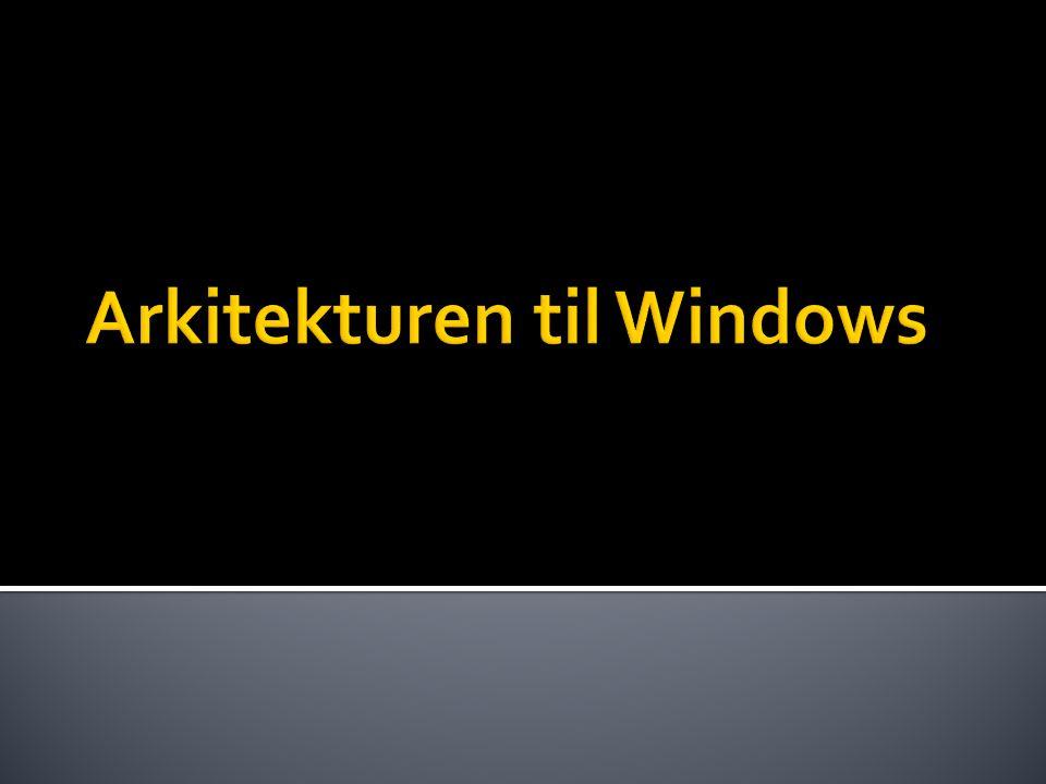 Arkitekturen til Windows