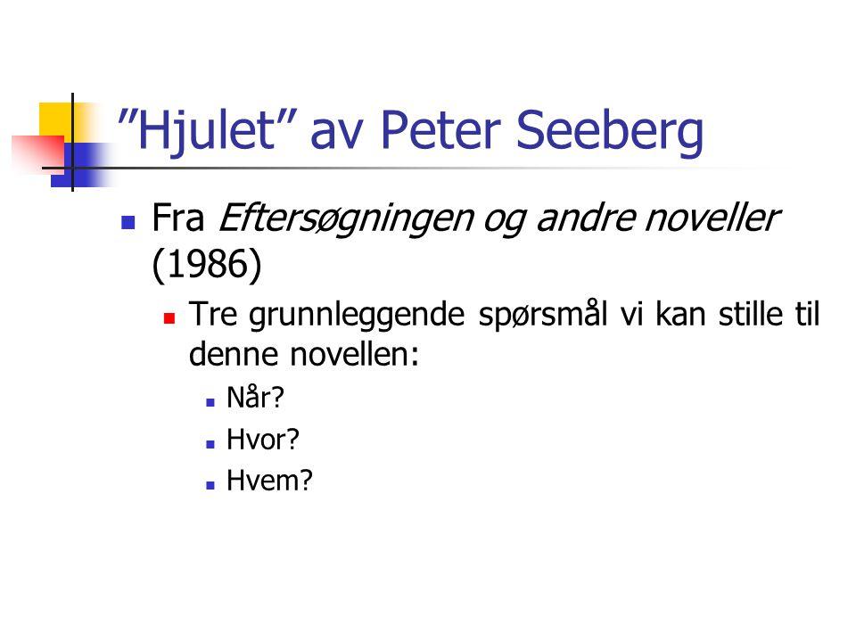 Hjulet av Peter Seeberg