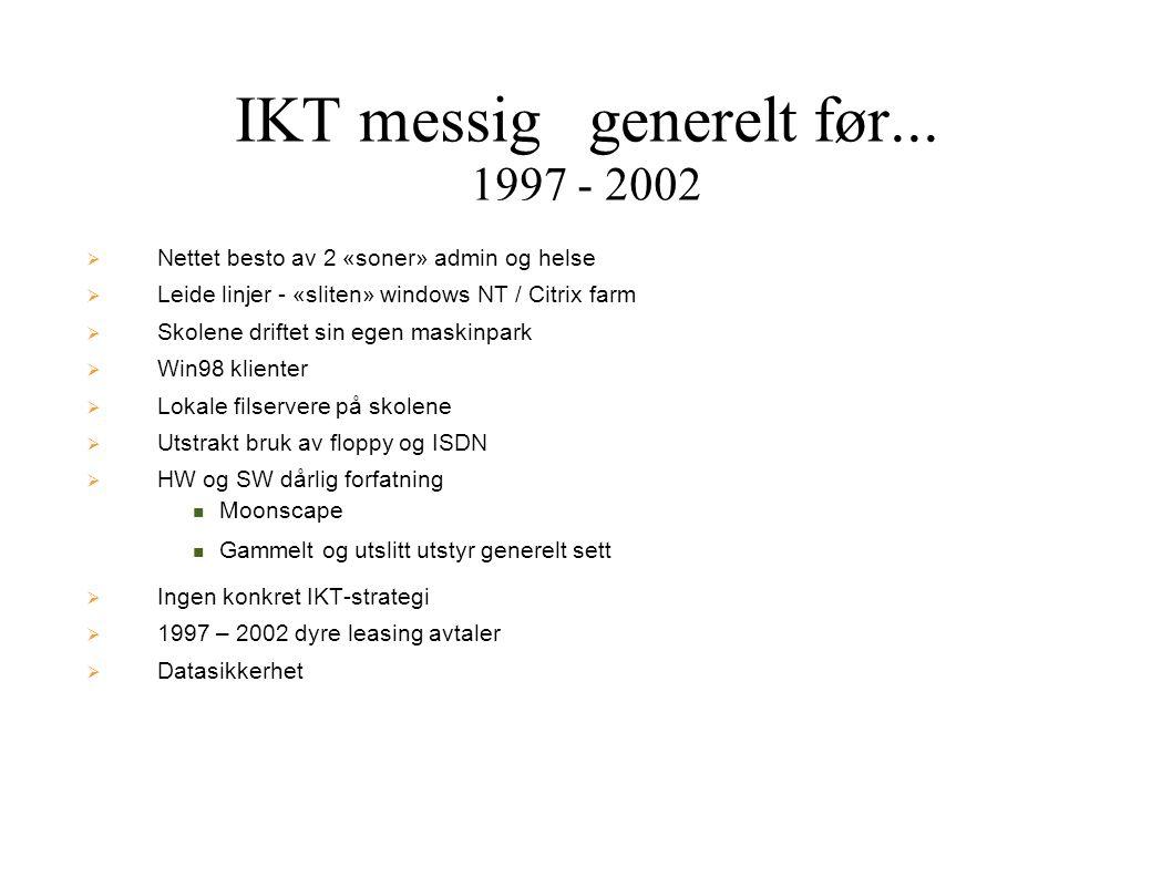IKT messig generelt før... 1997 - 2002