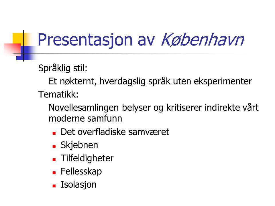 Presentasjon av København