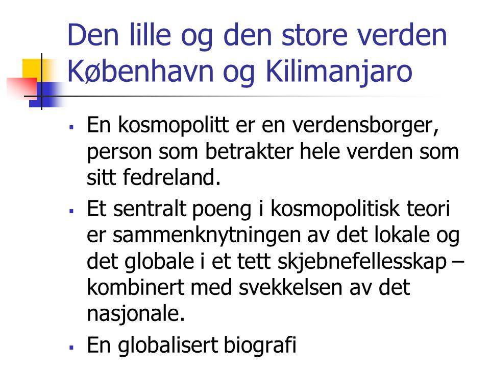 Den lille og den store verden København og Kilimanjaro