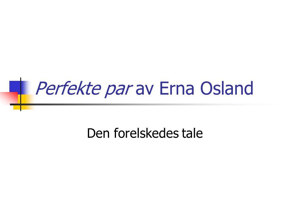Perfekte par av Erna Osland