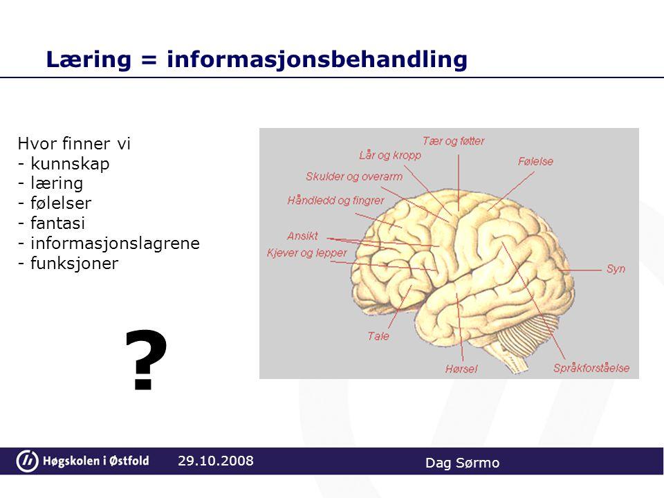 Læring = informasjonsbehandling