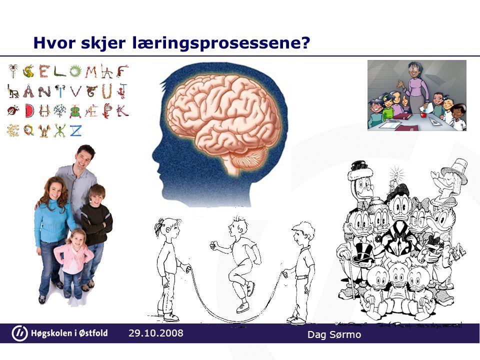 Hvor skjer læringsprosessene