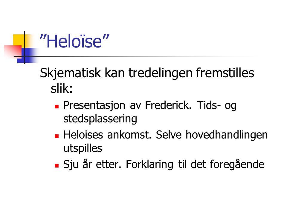 Heloïse Skjematisk kan tredelingen fremstilles slik: