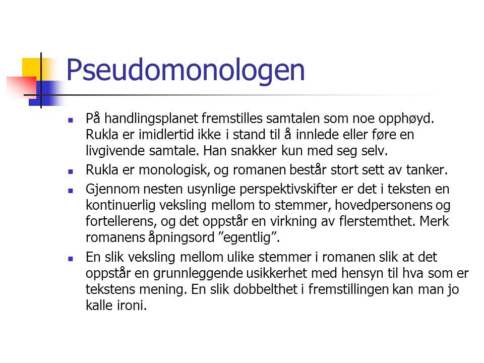 Pseudomonologen
