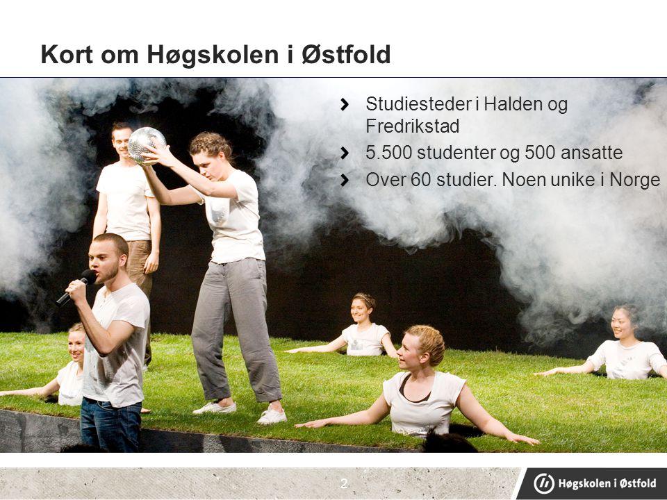 Kort om Høgskolen i Østfold