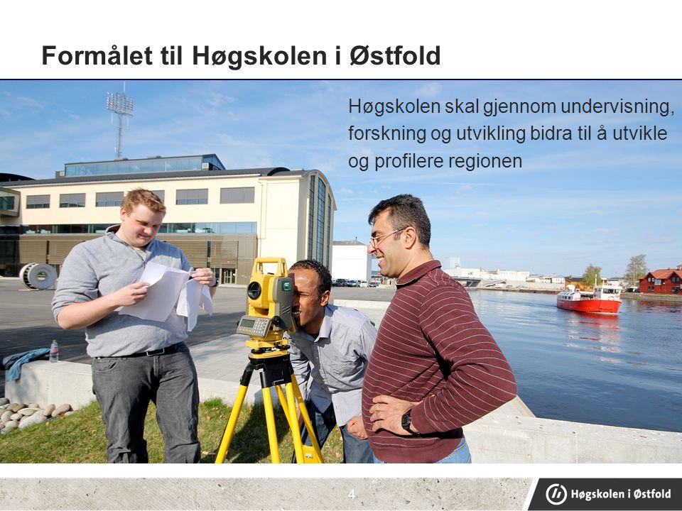 Formålet til Høgskolen i Østfold