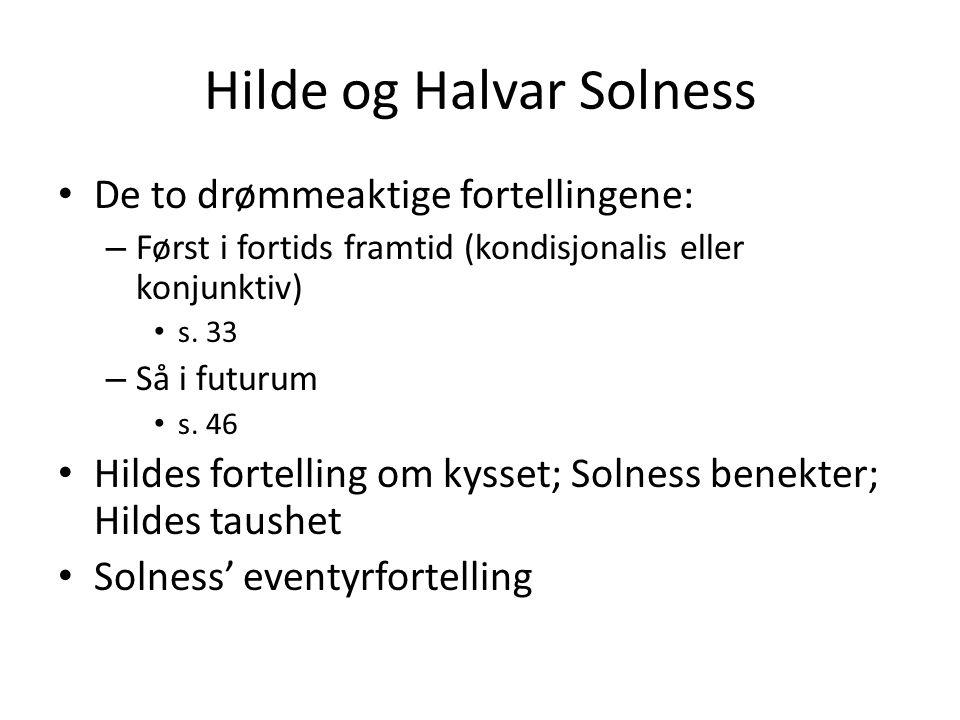 Hilde og Halvar Solness