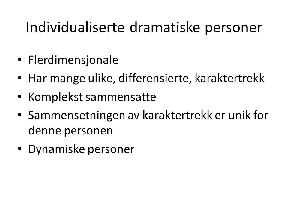 Individualiserte dramatiske personer
