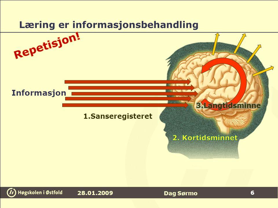 Læring er informasjonsbehandling