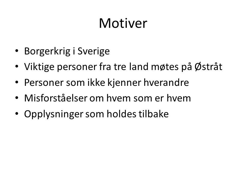Motiver Borgerkrig i Sverige