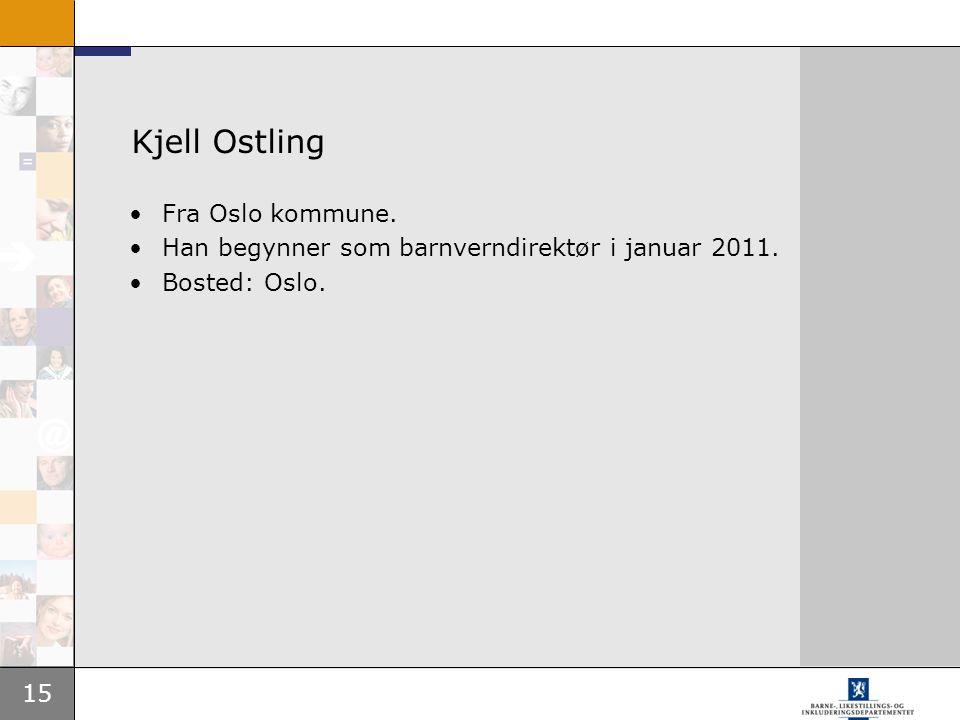 Kjell Ostling Fra Oslo kommune.