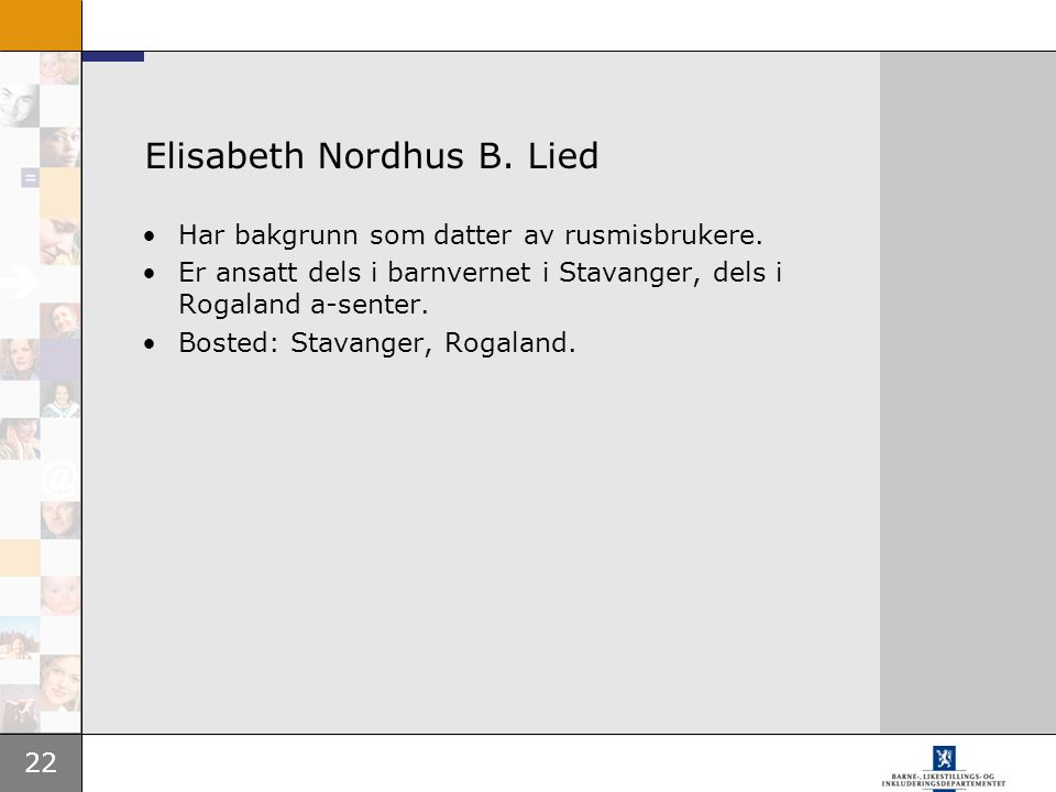 Elisabeth Nordhus B. Lied