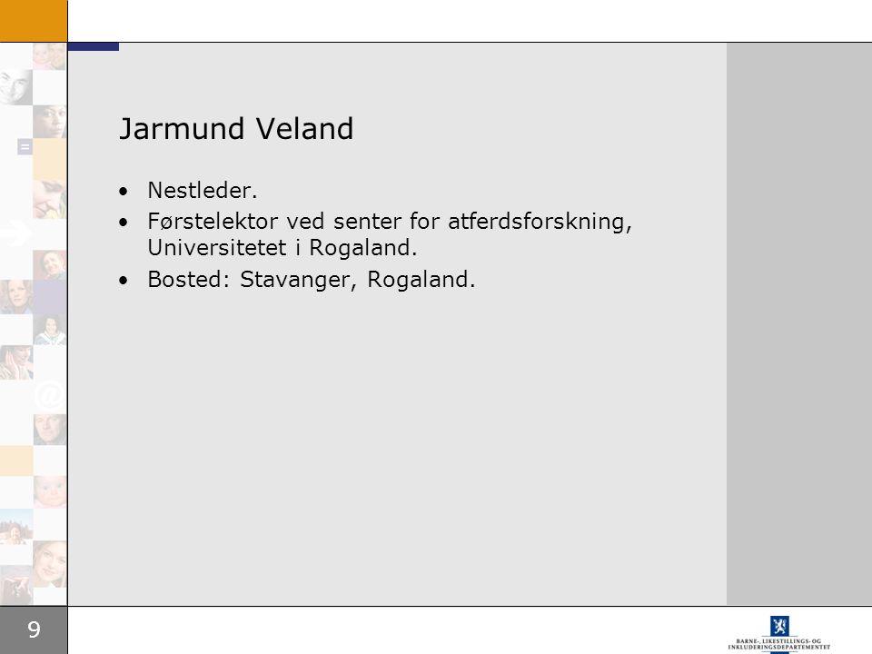 Jarmund Veland Nestleder.