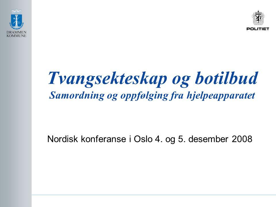 Nordisk konferanse i Oslo 4. og 5. desember 2008
