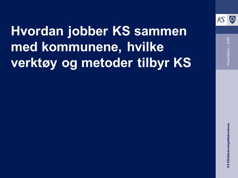 Hvordan jobber KS sammen med kommunene, hvilke verktøy og metoder tilbyr KS