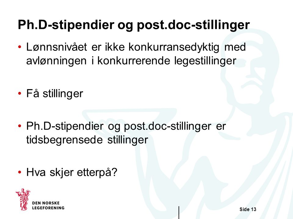 Ph.D-stipendier og post.doc-stillinger