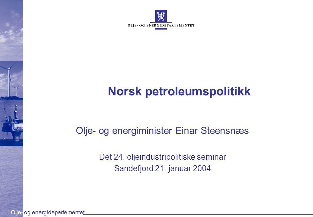 Norsk petroleumspolitikk