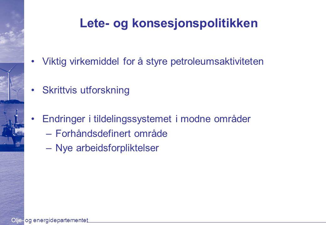 Lete- og konsesjonspolitikken