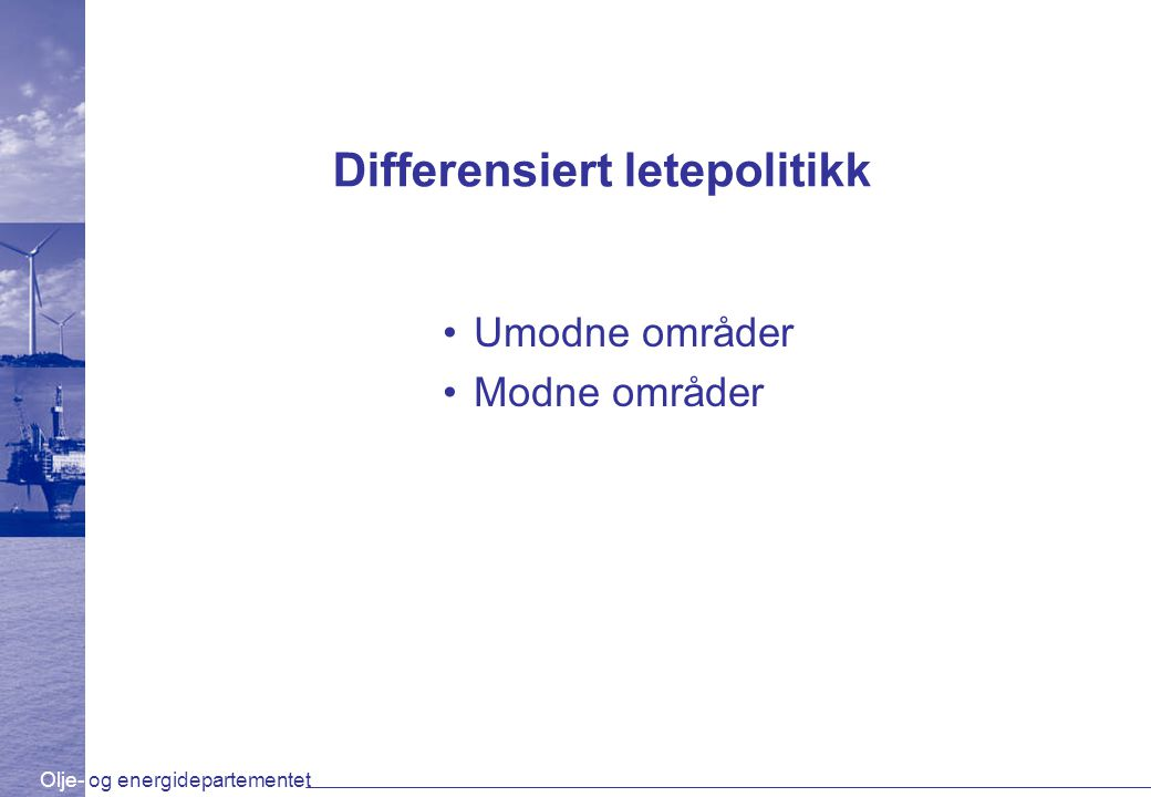 Differensiert letepolitikk