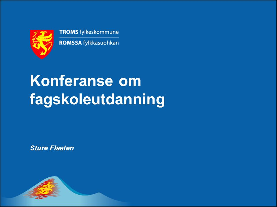 Konferanse om fagskoleutdanning